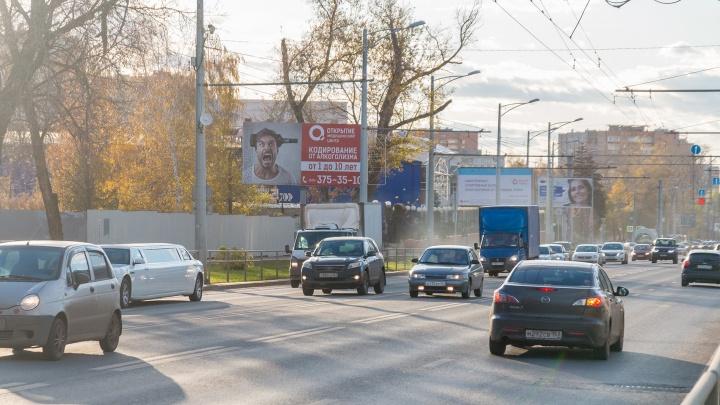 Стало известно, когда на Московском шоссе уберут колеи