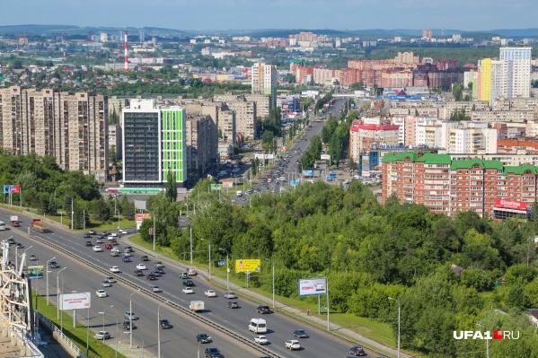 Согласно проекту преобразования города, к 2040 году дороги Уфы станут удобнее