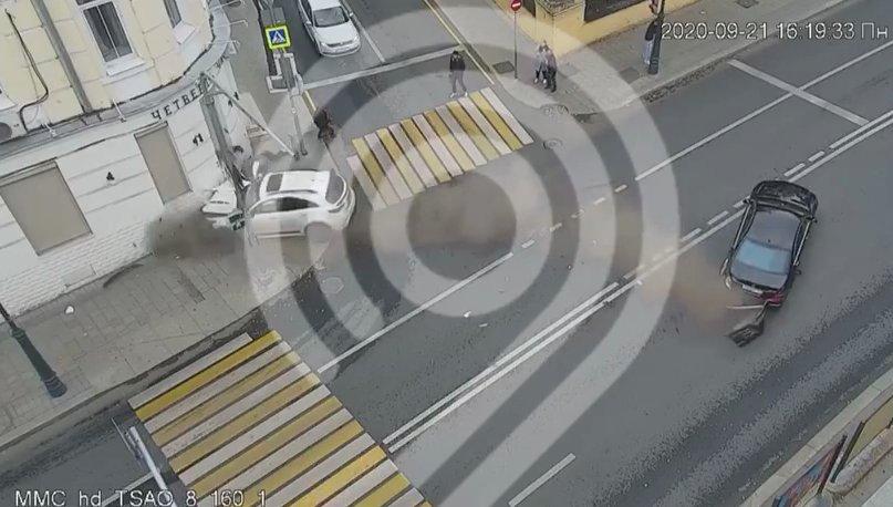 Кадр из видео Дептранса Москвы
