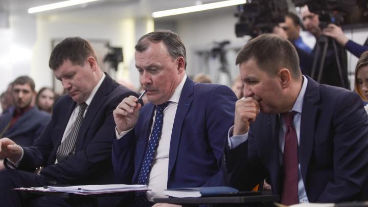 Алексея Орлова представили сотрудникам мэрии Екатеринбурга