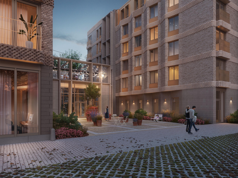 Так будет выглядеть клубный дом на Екатерининской