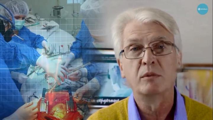 Омич решил снять фильм о кардиохирургах. Год назад они спасли ему жизнь