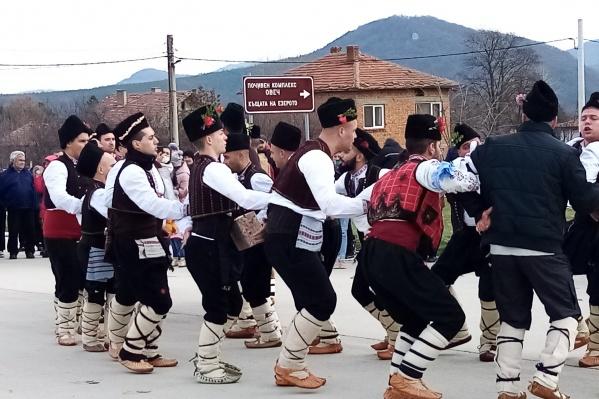 Рождественские гуляния в Болгарии
