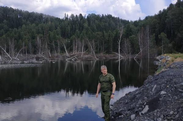 Андрей Панов лично съездил на разрез и проверил его работу