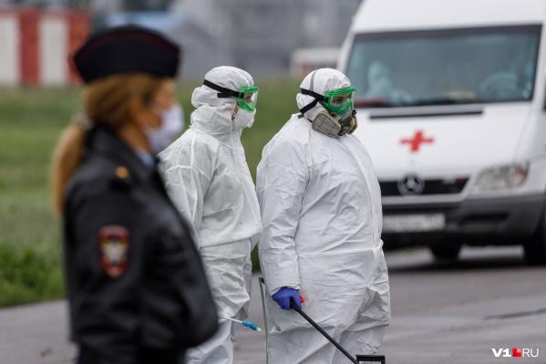 Наибольшее — по населенным пунктам — число заболевших в Жирновском районе