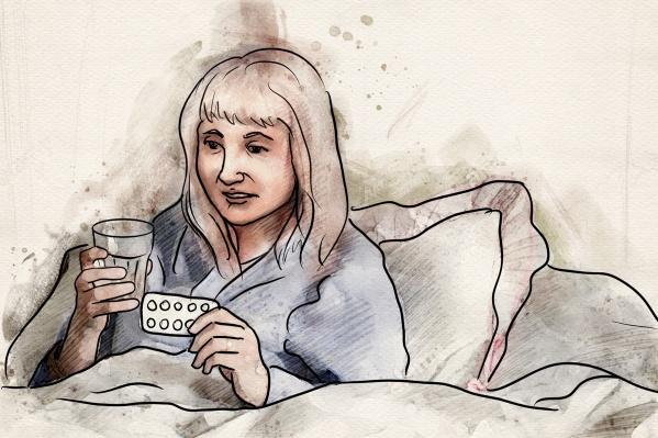 Когда женщина болела коронавирусом, врач поставил ей острый бронхит