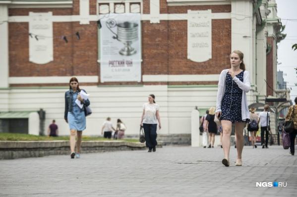 На выходных в Новосибирске не будет сильной жары