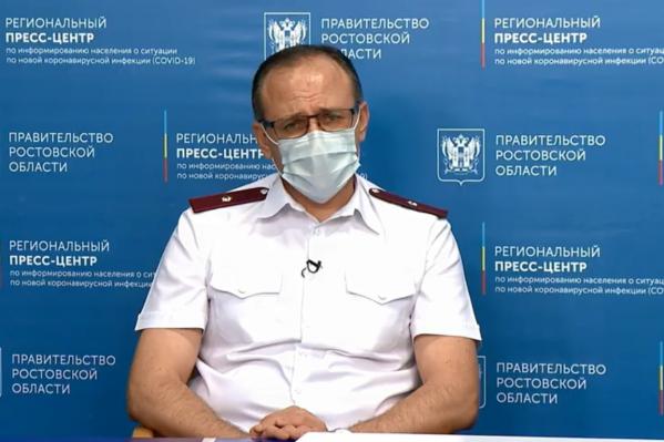 Ковалев напомнил о важности соблюдения масочного режима