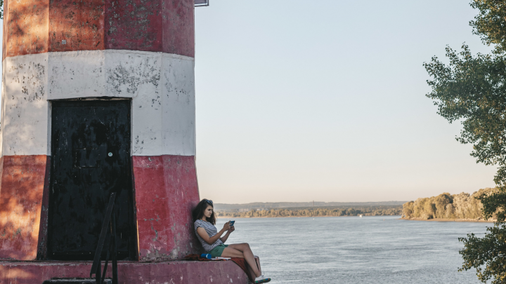 Найти бобров и полосатый маяк: даем геометки фотогеничных мест Новосибирска — там даже есть интернет