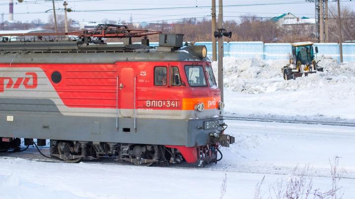 В Самарской области поезд сбил женщину