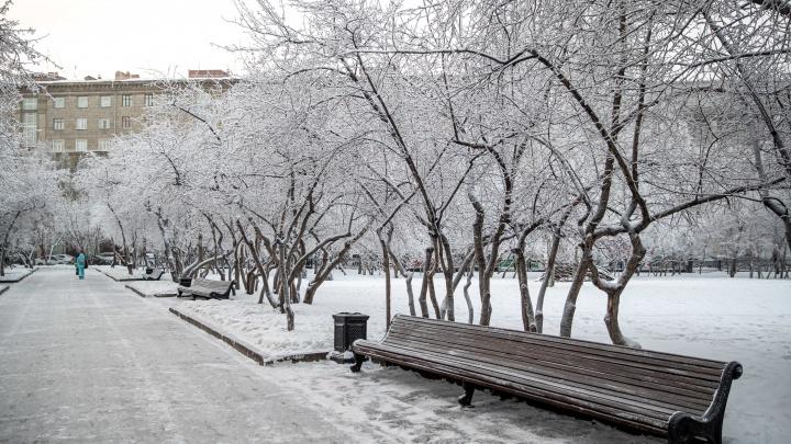 На Новосибирскую область идут снегопады (нас ждут «ныряющие» циклоны)