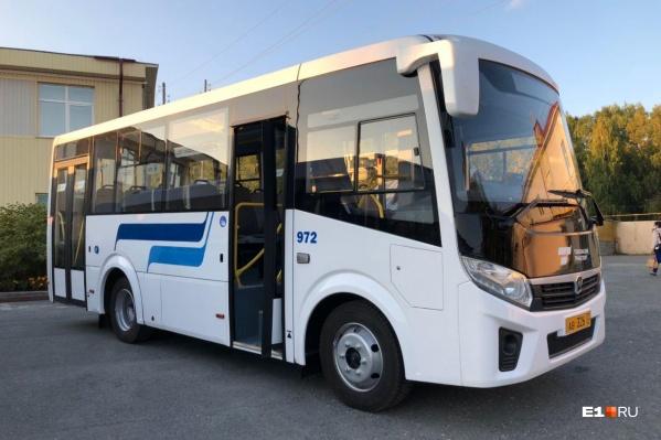 У всех тобольских автобусов единый фирменный стиль
