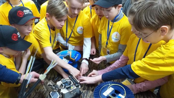 Как интернет приходит в дом: рыбинские школьники впервые участвовали в хакатоне по программированию