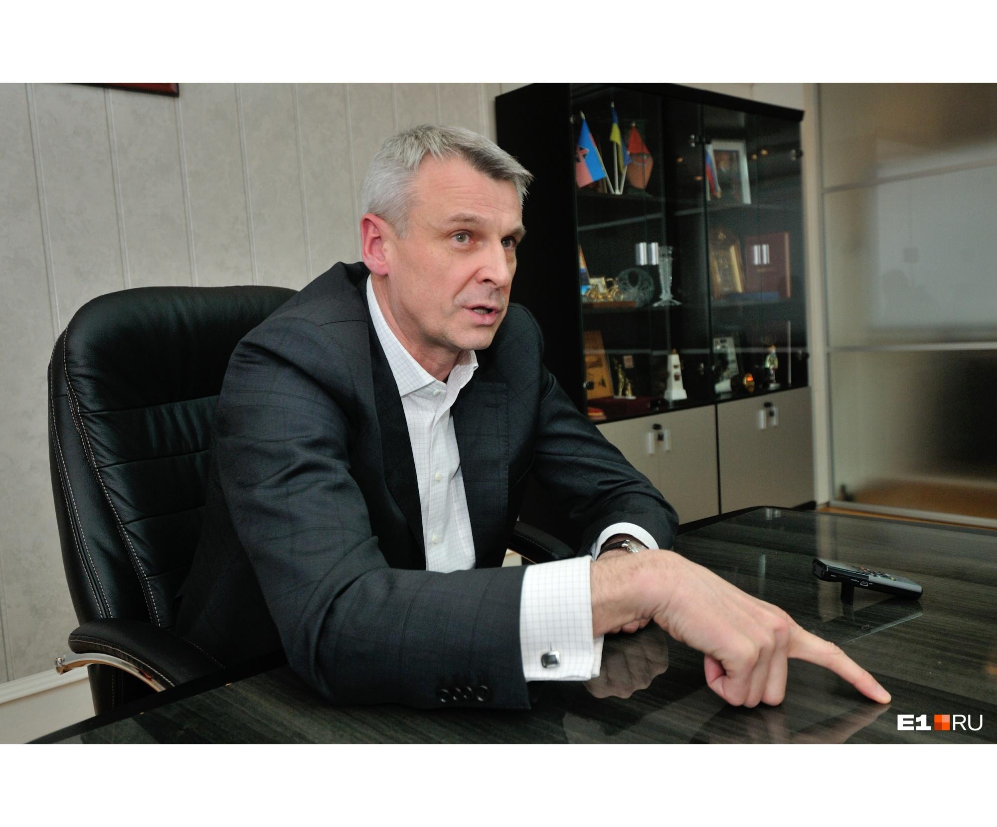 Сергей Носов в нулевых годах совмещал карьеру политика и топ-менеджера в металлургической промышленности