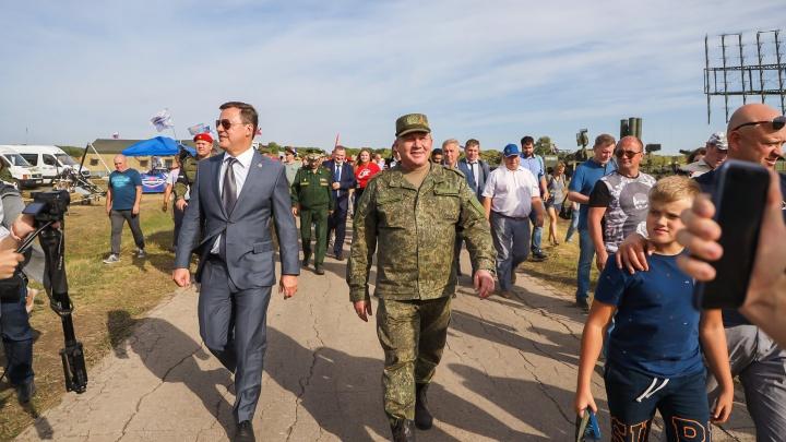 Под Самарой открылся военно-технический форум «Армия-2020»
