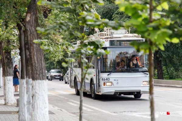 Драка произошла в троллейбусе маршрута № 15а