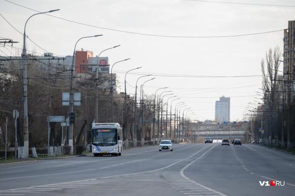 Город практически пуст