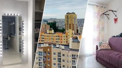Голова в облаках: восемь квартир левобережья на верхних этажах домов