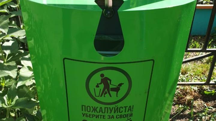 В двух скверах Красноярска решено установить дог-боксы для уборки за своими животными