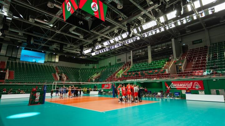 В Новосибирске открылся новый волейбольный центр: 9 кадров, как выглядит внутри «Локомотив»