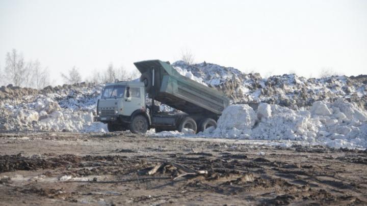 На мэрию Челябинска подали в суд, чтобы обязать чиновников построить безопасную снегосвалку