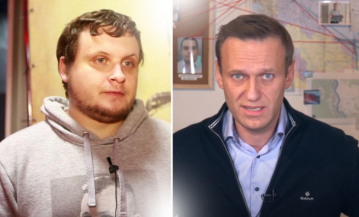 Алексей Столяров (слева) и Алексей Навальный. Скриншот с сайта YouTube / коллаж.