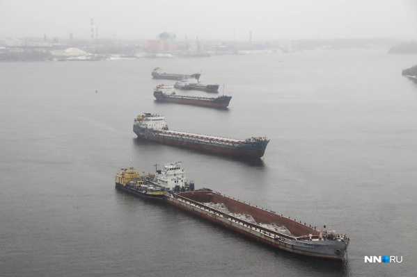 Волга серьезно обмелела за последние годы