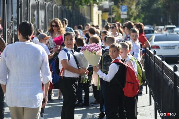 В этом году в школы Ростова пойдут 110 тысячучеников
