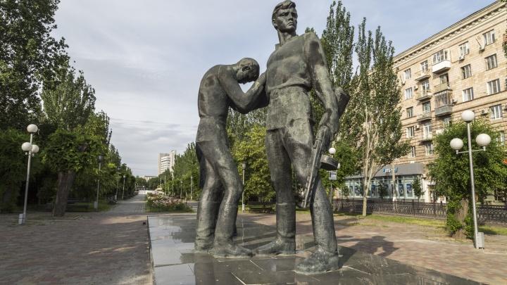 В Волгограде разрушается памятник комсомольцам — защитникам Сталинграда