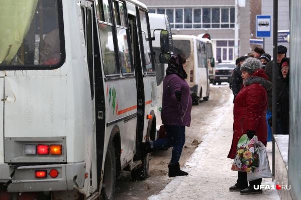 Горожане признаются, что стоят по часу на улице в ожидании своих маршрутов