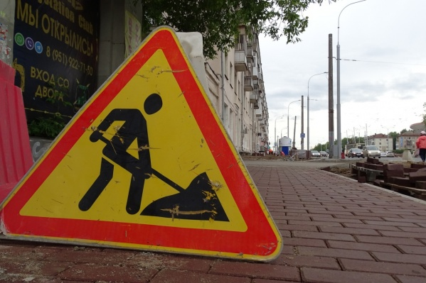 В выходные автомобилистам придётся объезжать участок улицы Трамвайной