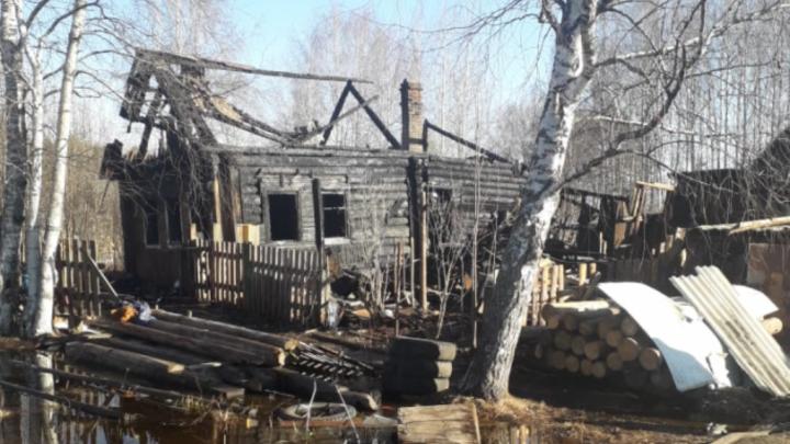 В Архангельской области возбудили уголовное дело после гибели детей в пожаре