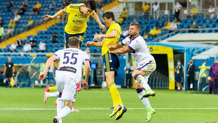 Лига чемпионов все дальше: ФК «Ростов» проиграл «Уфе»