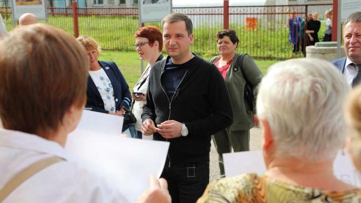 Александр Цыбульский подтвердил, что приедет на станцию Шиес