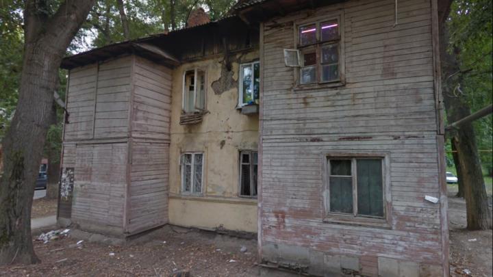 В Самаре хотят снести двухэтажный деревянный дом