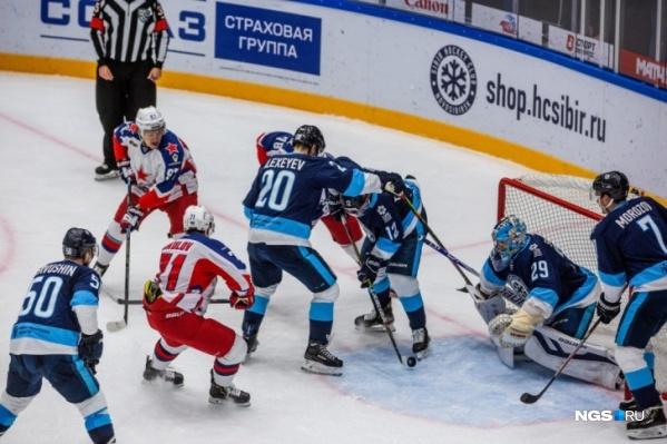 Первый домашний матч новосибирская команда сыграет с ЦСКА<br>