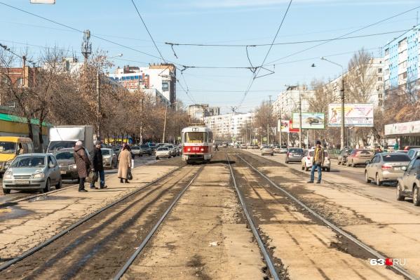 Полоса по направлению к Московскому шоссе будет недоступна для автомобилистов