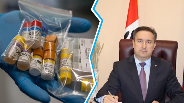 Глава Колыванского района объяснил, зачем сдал анализ на коронавирус