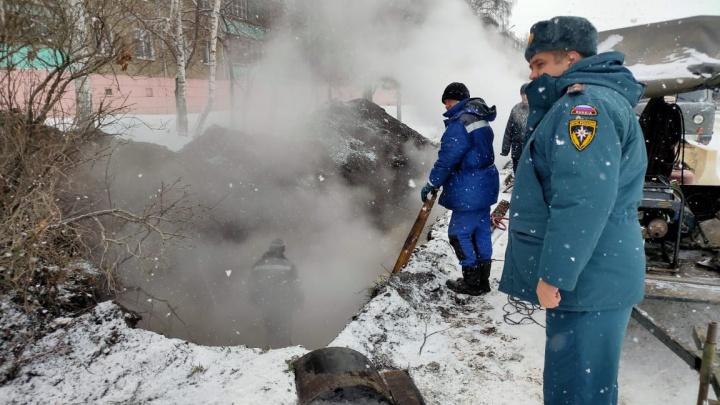 В Башкирии жители 176 домов остались без тепла из-за аварии