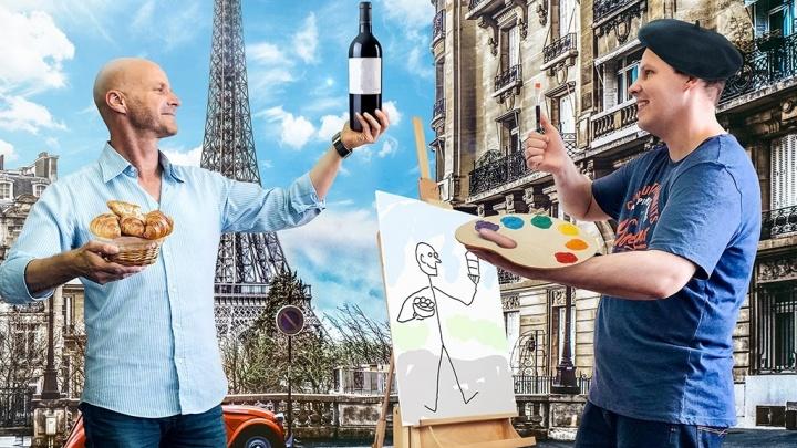 Воспоминания о Париже: ирландец и южноафриканец, преподающие английский в Новосибирске, рассказали, как спланировать путешествие в город романтиков