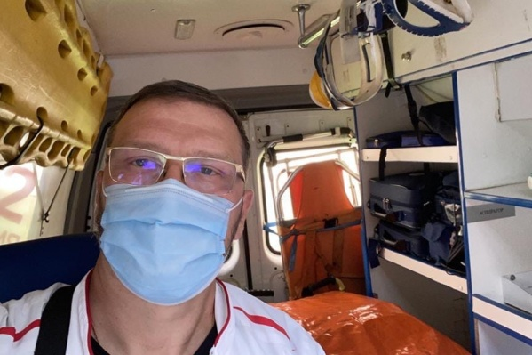 Константин Захаров будет лечиться в ковидном госпитале города Раменское