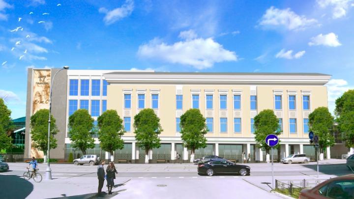 Администрация Перми представила проект нового корпуса гимназии № 17