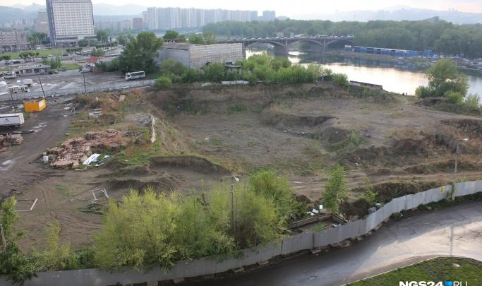 Возле «Планеты-Красноярск» на Предмостной хотят построить спортивный комплекс