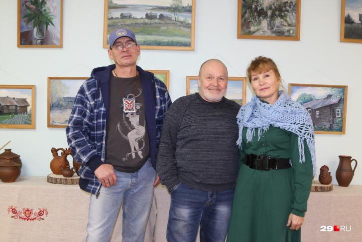 Со своим учителем Владимиром Холщагиным