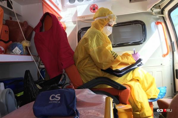 Больных с подозрением на пневмонию доставляют в больницы на скорой