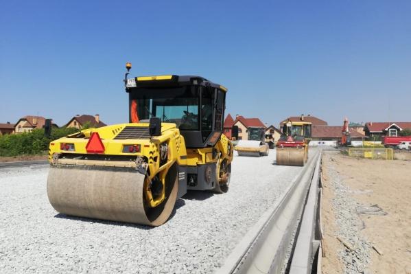 Ввести дорогу в эксплуатацию планируется до конца года