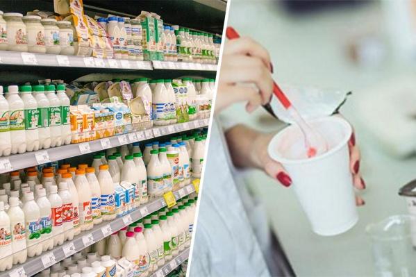 В молочке обнаружили тетрациклин