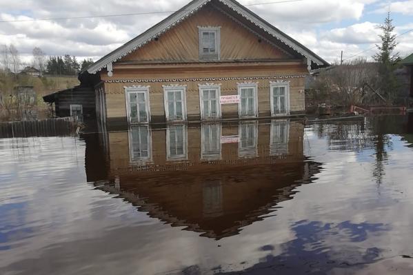 Из областной казны Вельскому району выделят 12 миллионов на компенсацию ущерба от паводка