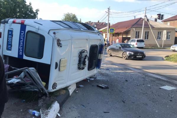 Авария произошла вечером 19 июля