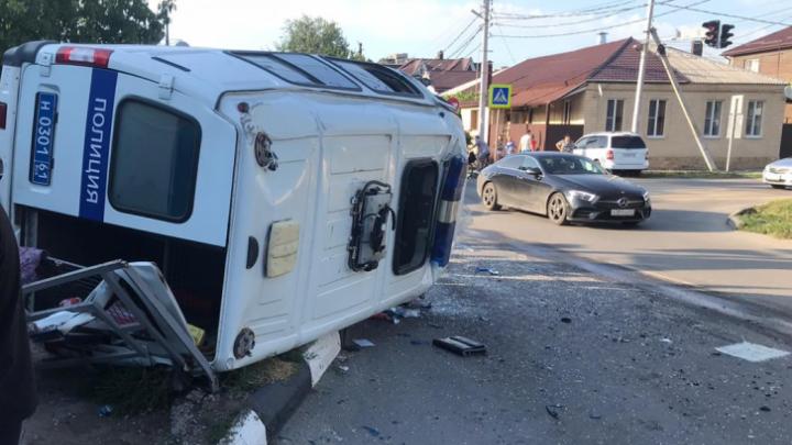 СК завел уголовное дело о ДТП с полицейской машиной в Батайске. Мы нашли свидетелей аварии